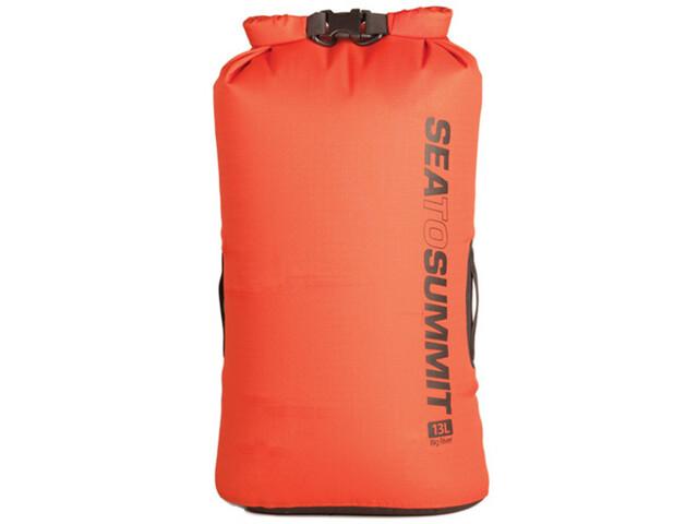 Sea to Summit Big River Bolsa seca 13L, orange